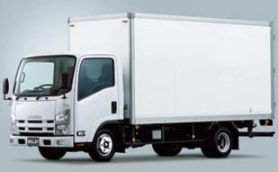 2tトラック(箱車)